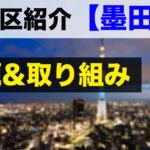 【特別区志望者必見】元特別区職員が墨田区の魅力・課題を紹介!