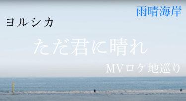 ヨルシカ「ただ君に晴れ」のMVロケ地「雨晴海岸」に行きました